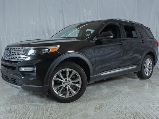 Black Ford Explorer Limited