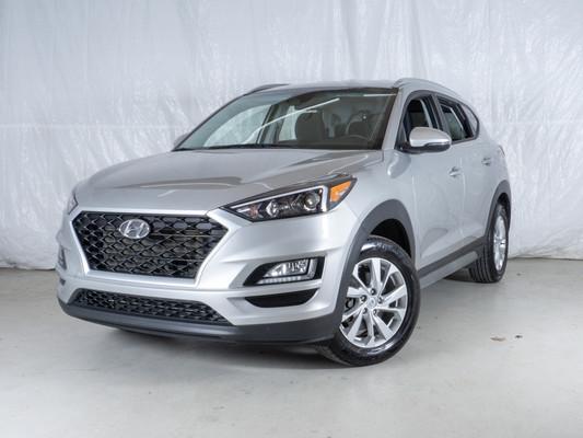 Silver Hyundai Tucson Preferred