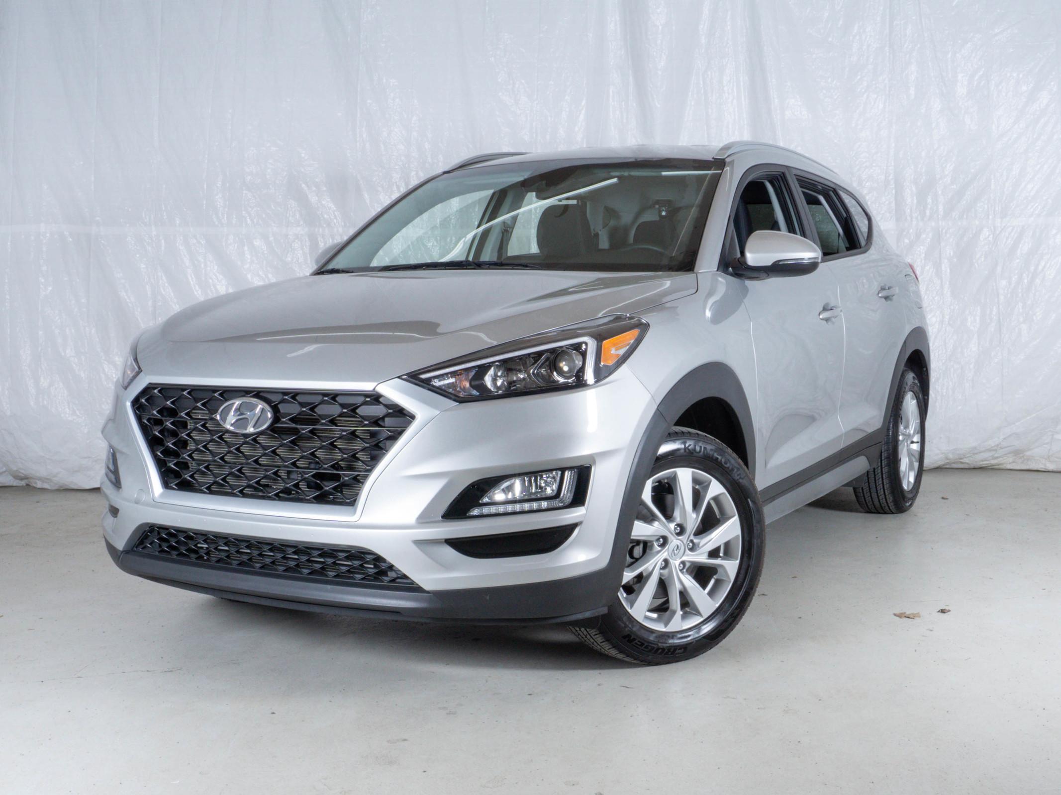 Silver Hyundai Tucson Preferred AWD