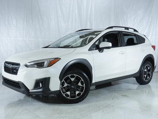 White Subaru Crosstrek Sport