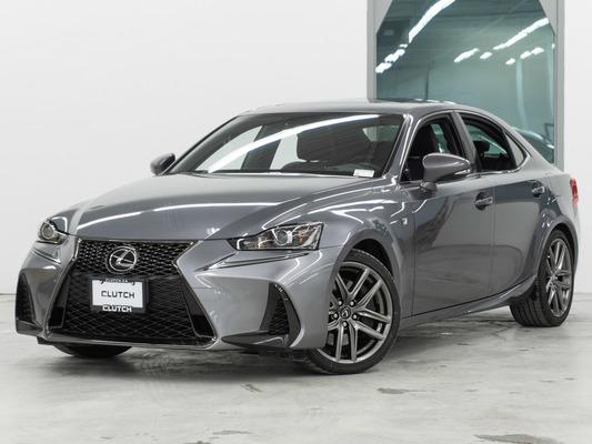 Grey Lexus IS 300 F Sport AWD