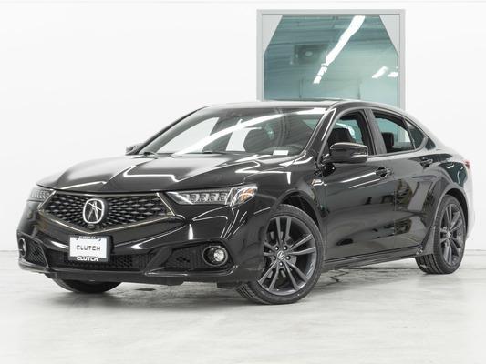 Black Acura TLX SH-AWD Elite A-Spec