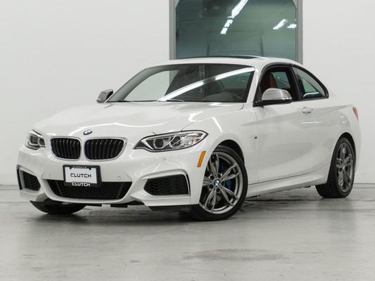 White BMW 2 Series  M240i xDrive