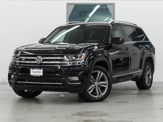 Black Volkswagen Atlas Highline AWD