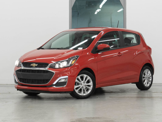 Red Chevrolet Spark 1LT