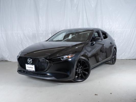 Black Mazda Mazda3 Sport GT