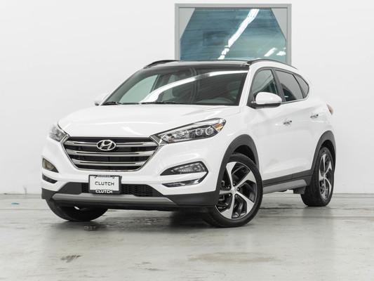 White Hyundai Tucson 1.6T Ultimate AWD