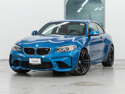 Blue BMW M2 DCT Automatic