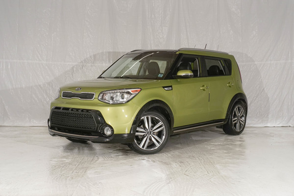 Green Kia Soul SX Luxury