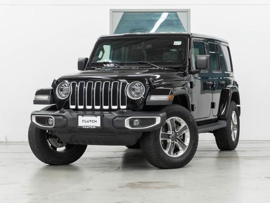 Black Jeep Wrangler Unlimited Sahara 4WD