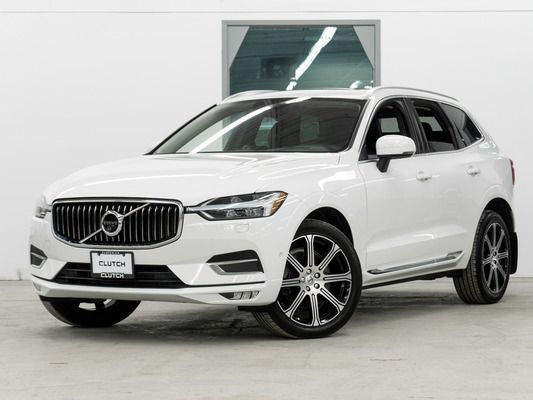White Volvo XC60 T6 Inscription AWD