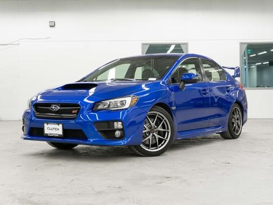 Blue Subaru WRX STI Sport-Tech AWD