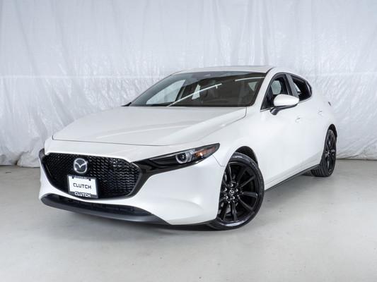White Mazda Mazda3 Sport GT