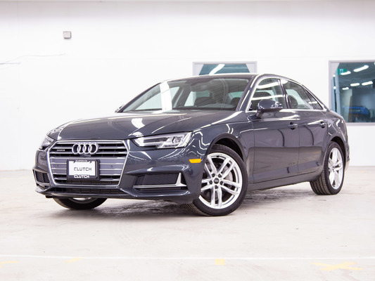 Grey Audi A4 Technik Plus AWD