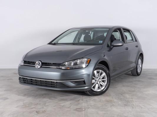 Grey Volkswagen Golf Trendline