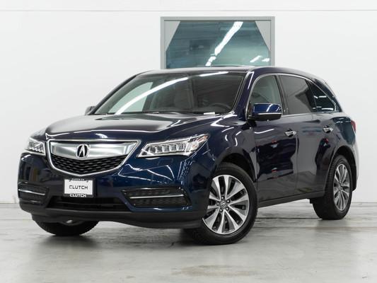 Blue Acura MDX NAV PKG AWD