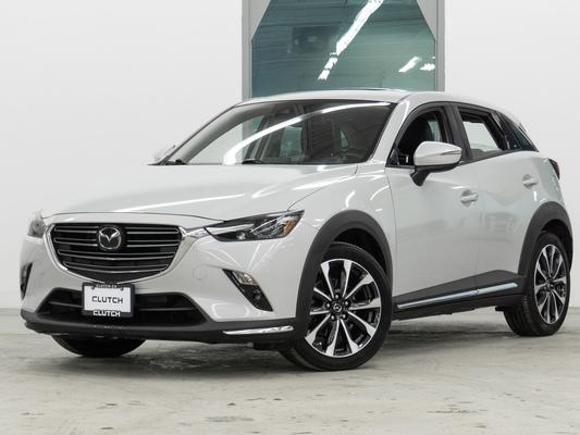 Grey Mazda CX-3 GT AWD