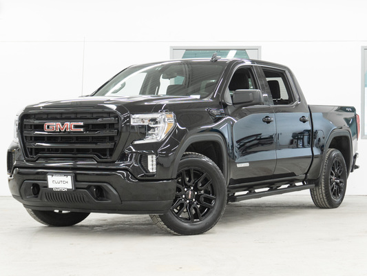 Black GMC Sierra 1500 Crew Cab Elevation 4WD