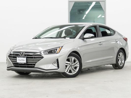 Silver Hyundai Elantra Preferred