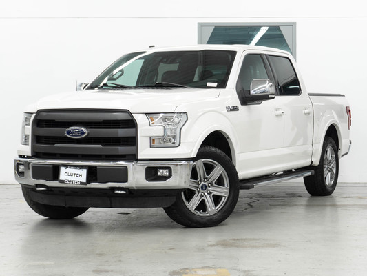 White Ford F-150 Lariat 4WD