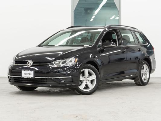 Black Volkswagen Golf SportWagen Comfortline AWD