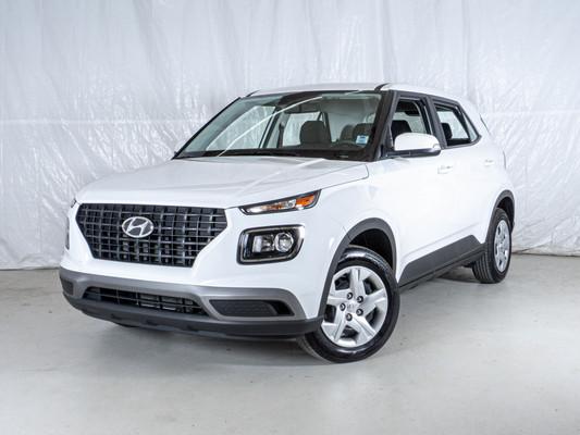 White Hyundai Venue Essential