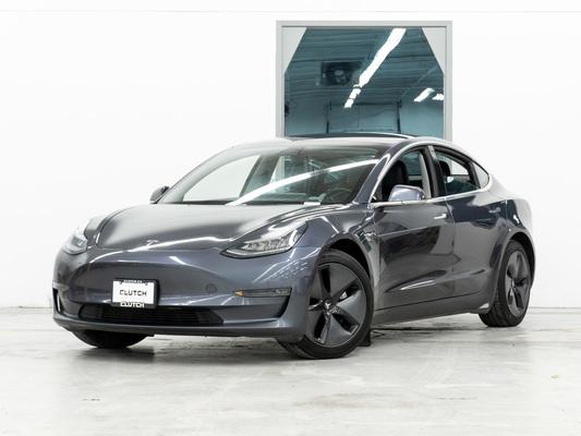 Grey Tesla Model 3 Mid Range