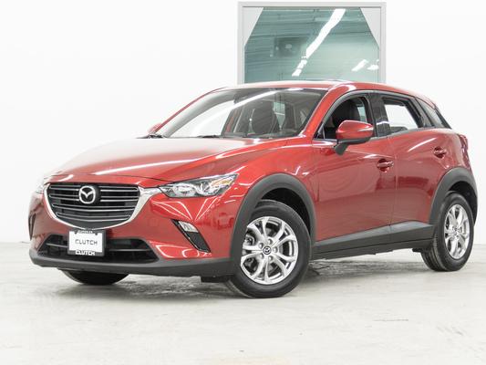 Red Mazda CX-3 GS AWD