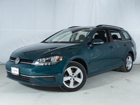 Green Volkswagen Golf SportWagen Comfortline AWD