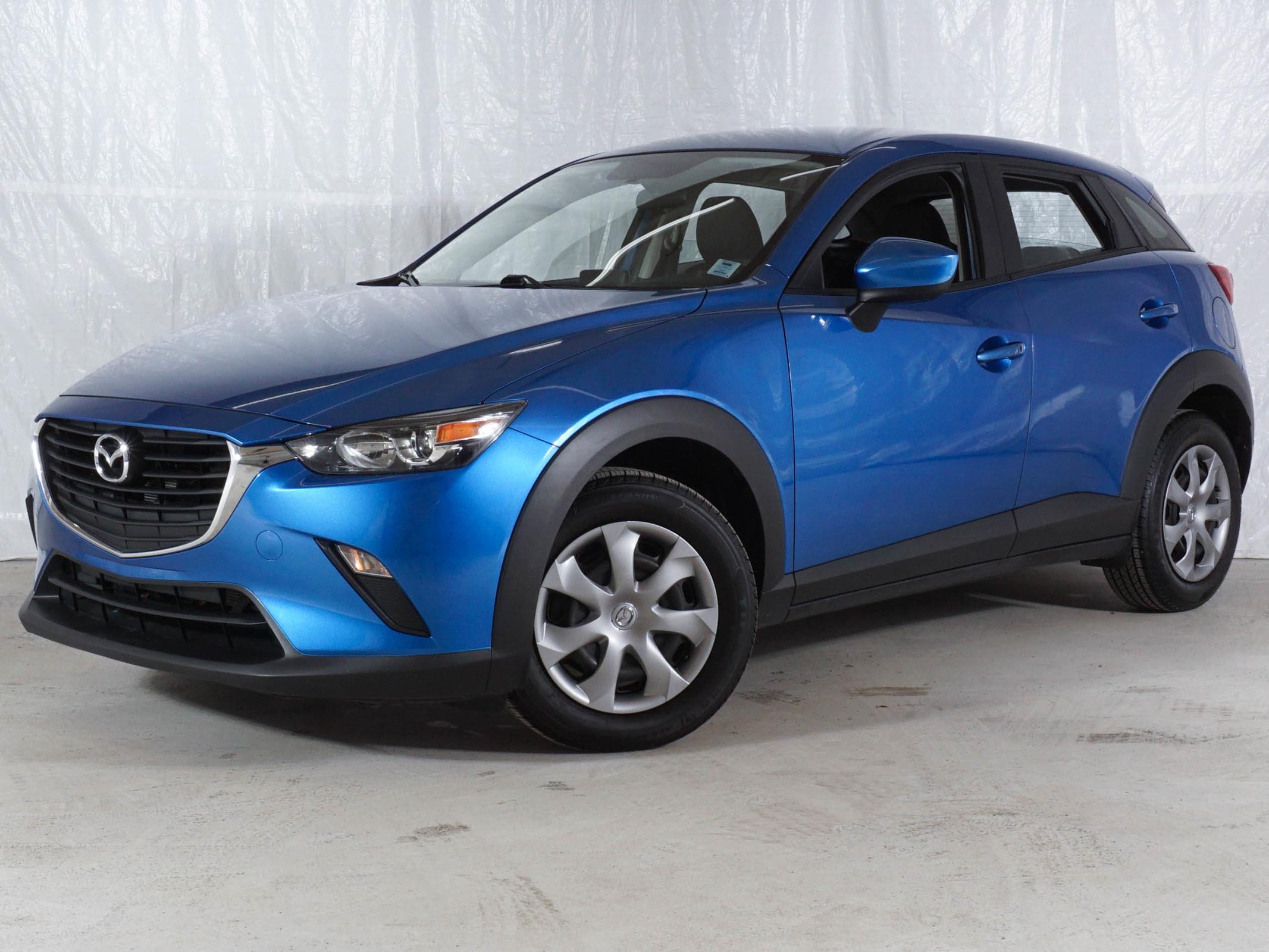 Blue Mazda CX-3 GX AWD