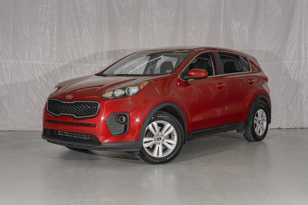 Red Kia Sportage LX