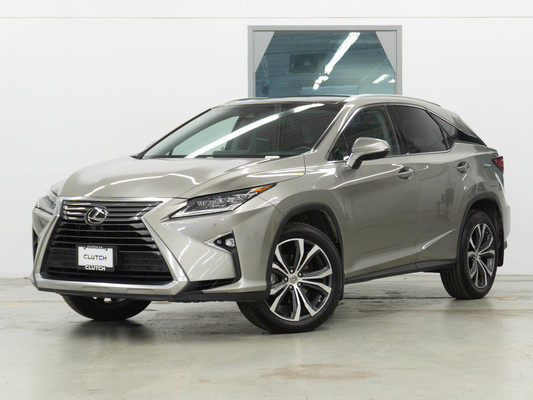 Silver Lexus RX 350 Executive Package AWD