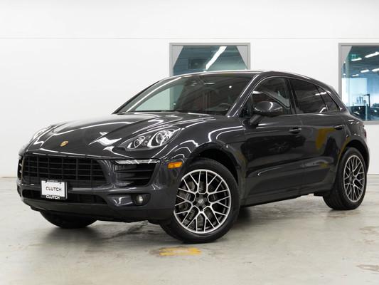 Grey Porsche Macan Base AWD