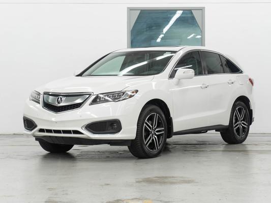 White Acura RDX Elite AWD