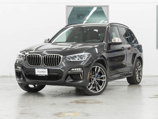 Grey BMW X3 xDrive M40i AWD