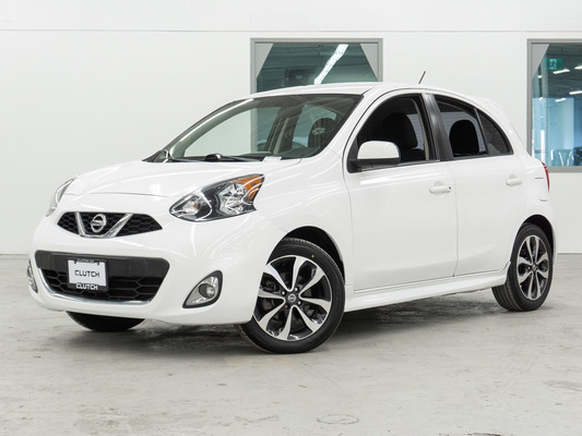 White Nissan Micra SV