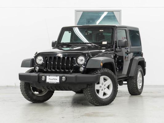 Black Jeep Wrangler JK Sport 4WD
