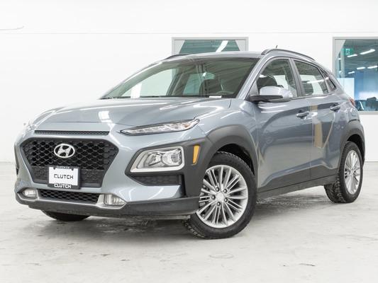 Silver Hyundai Kona Preferred AWD