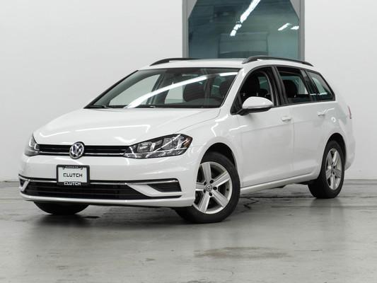 White Volkswagen Golf SportWagen Comfortline AWD