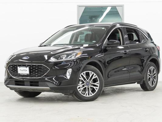 Black Ford Escape SEL