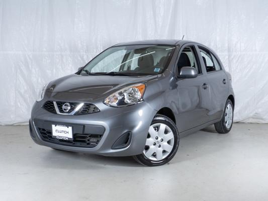 Grey Nissan Micra SV