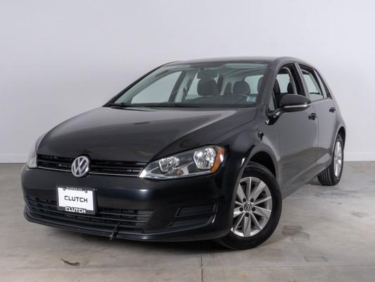 Black Volkswagen Golf Comfortline