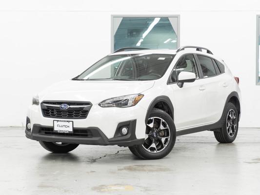White Subaru Crosstrek Sport AWD