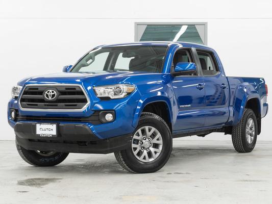 Blue Toyota Tacoma SR5 4WD