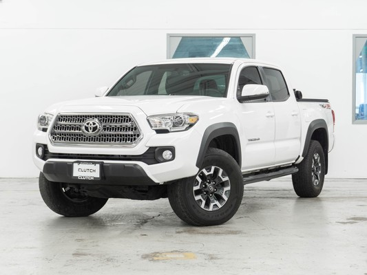 White Toyota Tacoma TRD Offroad 4x4 Double Cab
