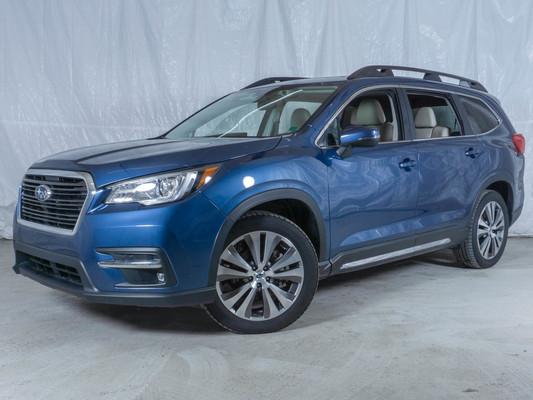Blue Subaru Ascent Limited