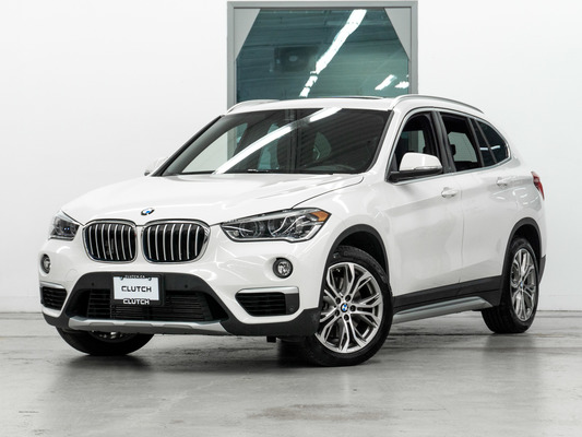 White BMW X1 xDrive28i