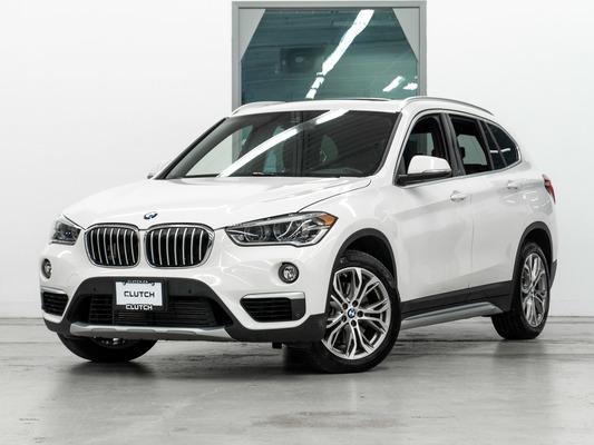 White BMW X1 xDrive28i