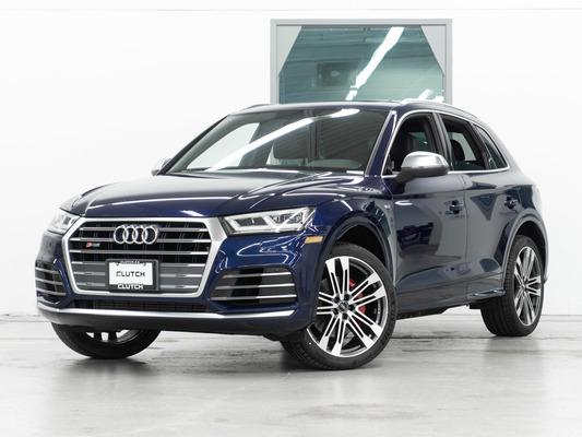 Blue Audi SQ5 Progressiv
