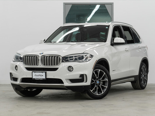 White BMW X5 xDrive35i AWD